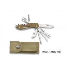 Canivete Multifunções Coyote Green + Bolsa