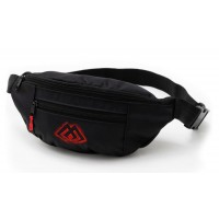 Mikado Black Waist Bag